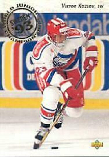 1992-93 Upper Deck Viktor Kozlov Rookie