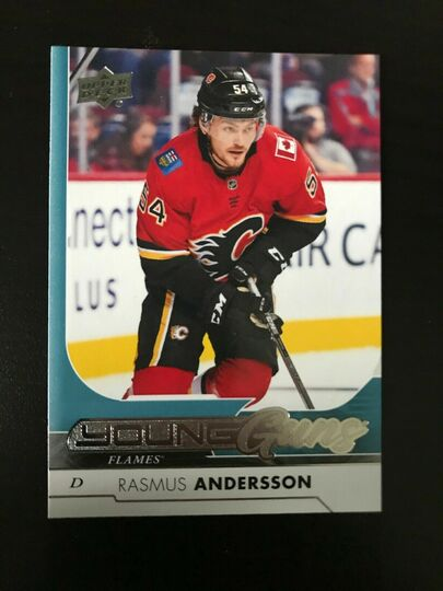 2017-18 Upper Deck Rasmus Andersson Young Guns