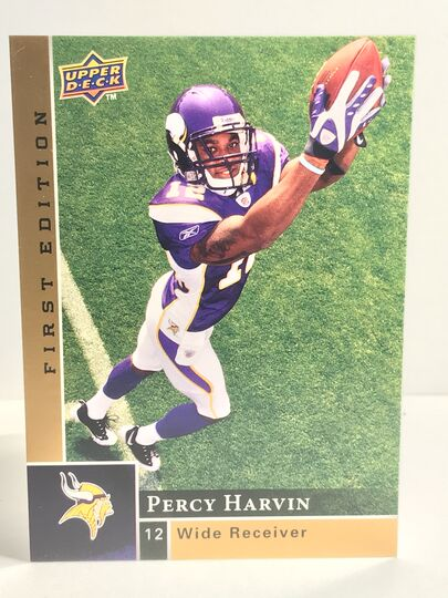 2009 Percy Harvin Upper Deck First Edition Rookie #195