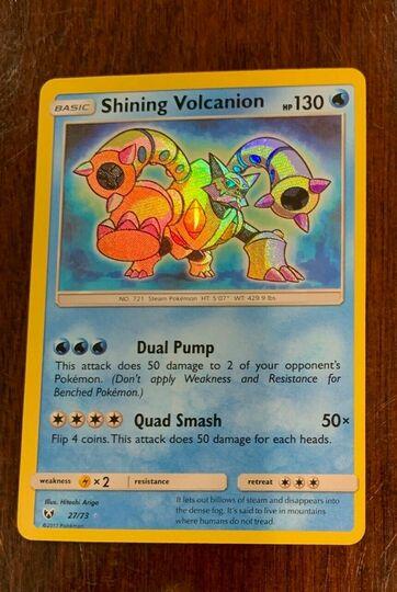 Shining Volcanion 27/73