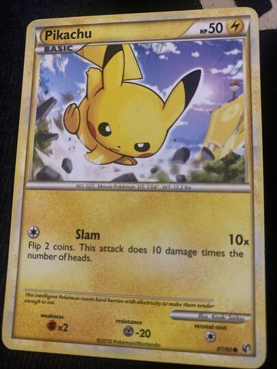 pikachu 61/90