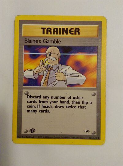 Blaine's Gamble 121/132