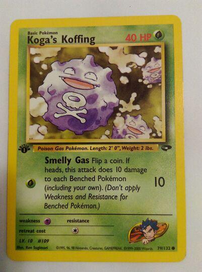 Koga's Koffing 79/132