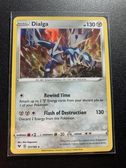 Dialga Rare Holo Vivid Voltage 121/185