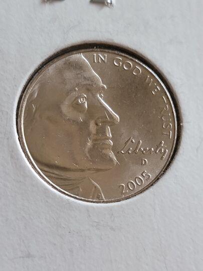 2005 D nickel