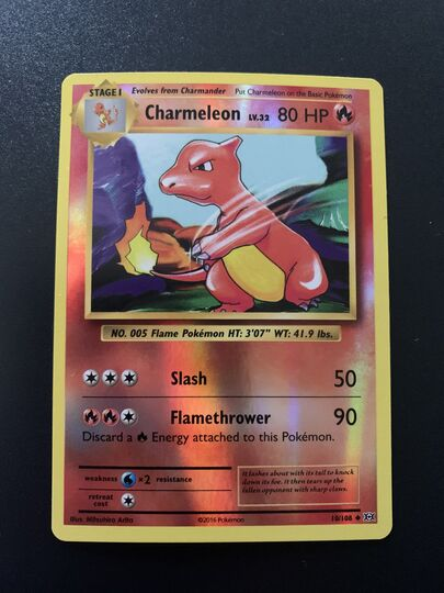 Charmeleon 10/108 PSA 9 NM