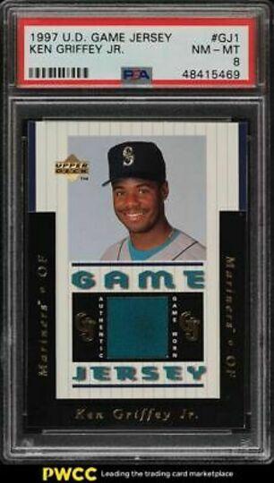 Griffey Jr., Ken 1997 Upper Deck Game Jersey