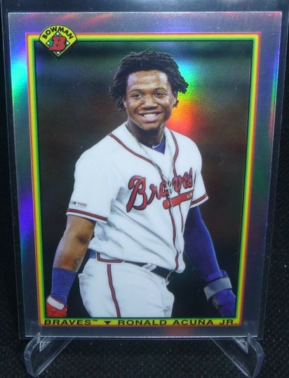 Acuna, Ronald 2020 Bowman Chrome 1990