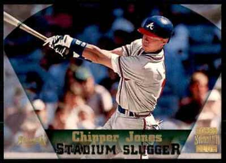 Jones, Chipper Stadium Slugger