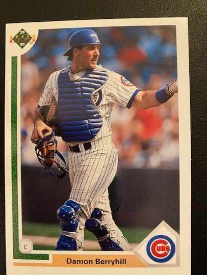 1991 Upper Deck Cubs Damon Berryhill