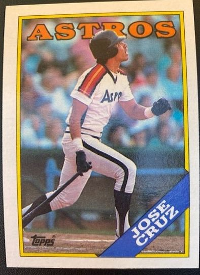 1988 Topps Astros Jose Cruz 278