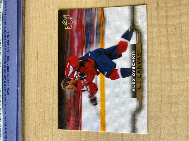 2015/16 Upper Deck Series Two Canvas, Alexander Ovechkin, card number C203