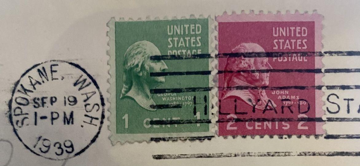 1 cent Washington