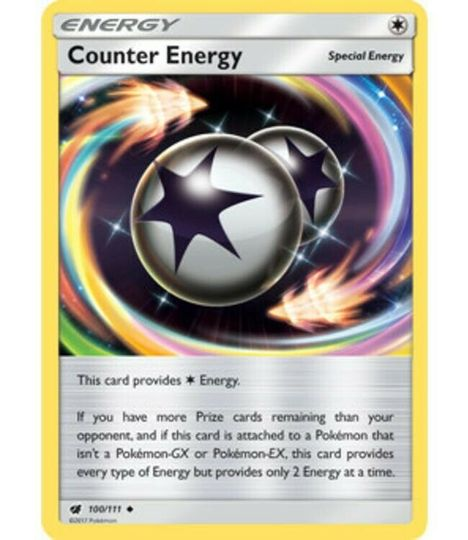 Counter Energy 100/111 Energy Card