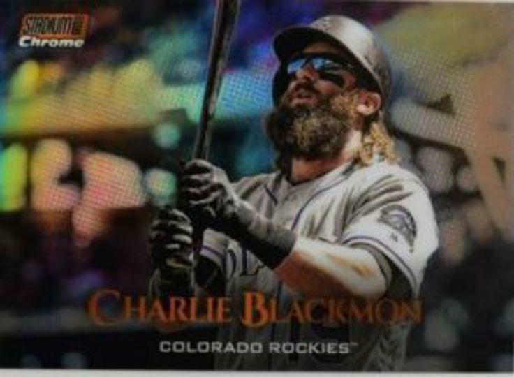 2019 Topps Stadium Club Charlie Blackmon SCC-57 /99