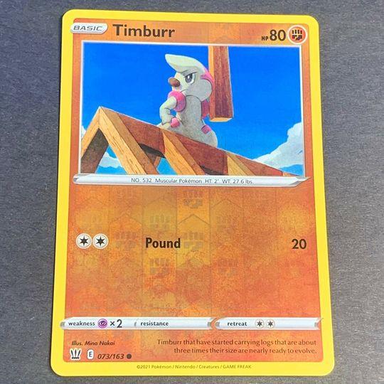 Timburr 073/163