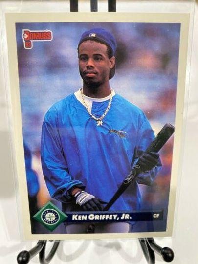 1992 leaf ken griffey jr 553