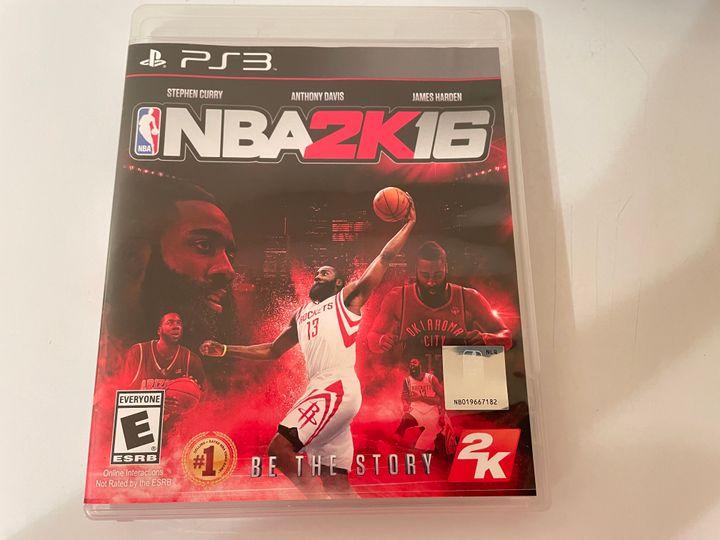 PS3 NBA basketball video game