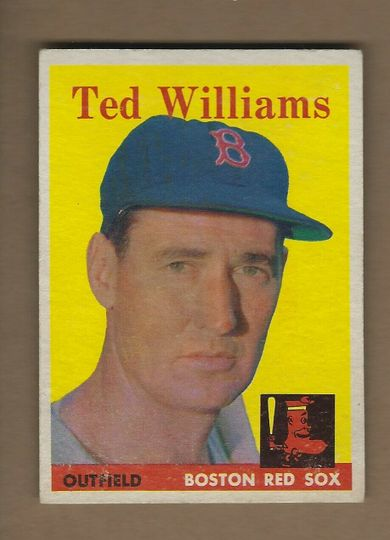 1958 TOPPS TED WILLIAMS 1