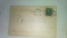 1 cent franklin stamp on post card