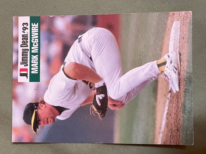 1993 Jimmy Dean Base Collection Image