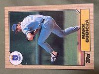 1987 topps 326 mark gubicza