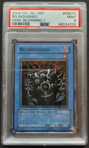 1x Super Rare Relinquished DB1-EN015