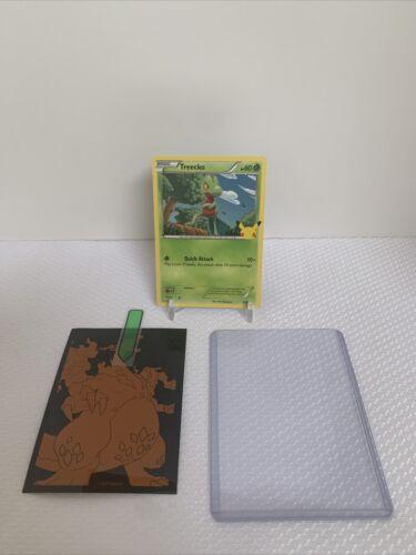 Pokemon McDonald's 25th Anniversary Treecko 3/25 Non Holo Promo Card 2021