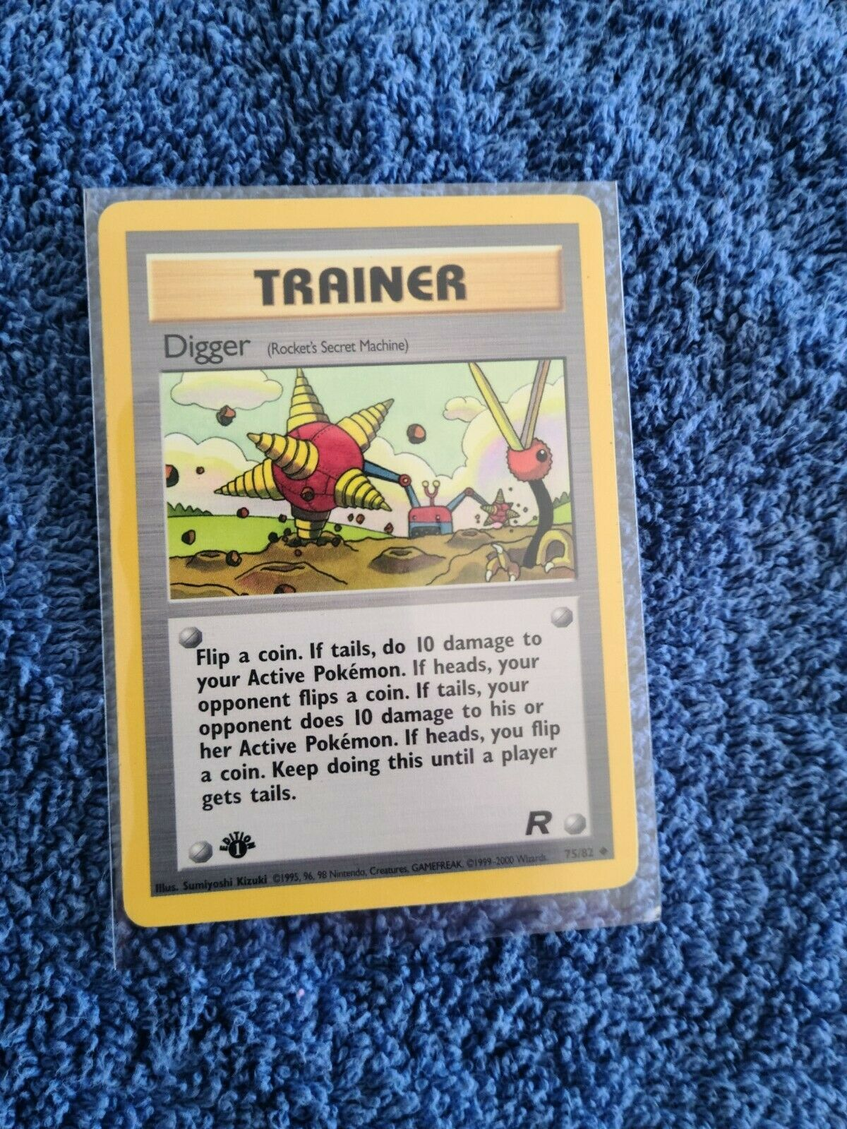 Digger 75//82 Team Rocket Pokemon Card