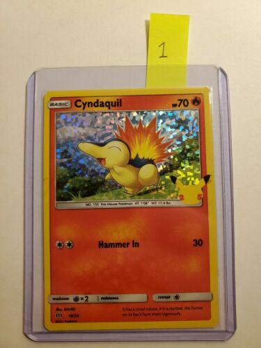 Pokemon McDonald's 25th Anniversary Cyndaquil Holo 10/25 (Moderately Played) #1 - Image 8