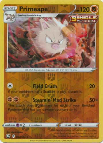 Pokemon - Primeape - 067/163 - Reverse Holo Rare - Battle Styles - NM/M