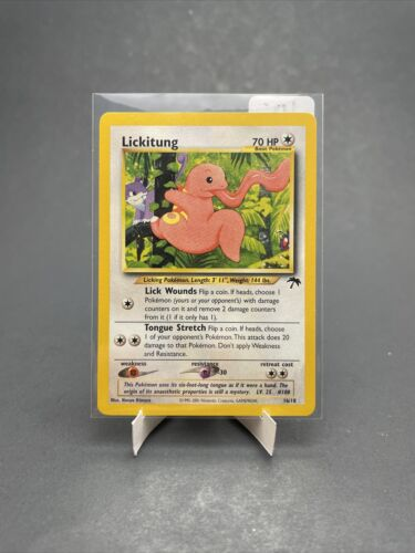 Lickitung 16/18 Pokémon Card Southern Islands- NM - Image 1