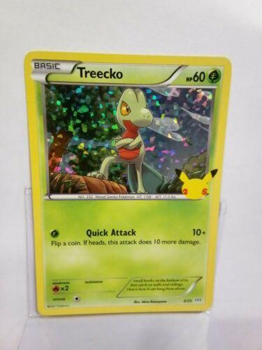 Pokemon Treecko 3/25 McDonald's 2021 Holo 25th Anniversary Mint - Image 1