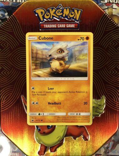 Cubone   52/111 S&M: Crimson Invasion Common Mint/NM Pokemon - Image 7