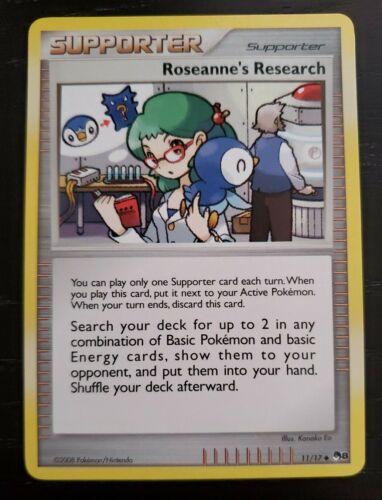 Roseanne's Research Pop Series 8 Pokemon Promo Card 11/17 - Near Mint!!  VHTF