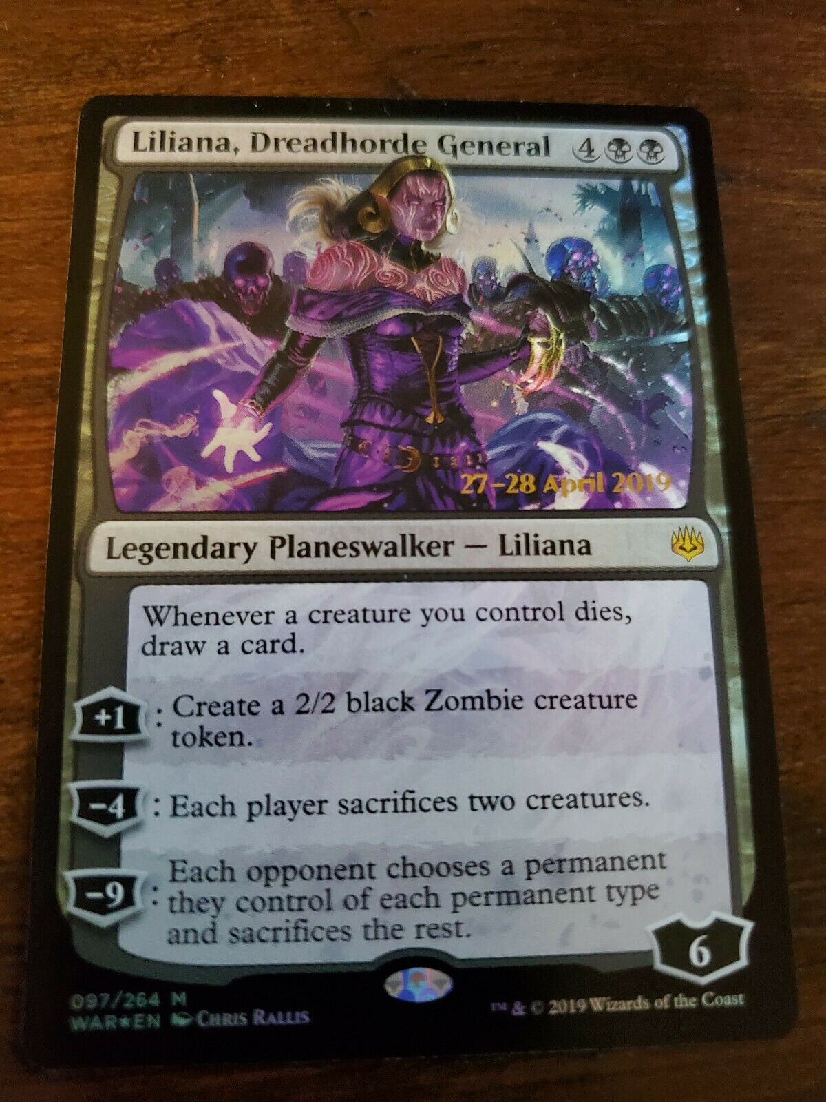 MTG NM War of the SParks Magic the Gathering 1x COMMAND THE DREADHORDE