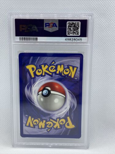 1999 Pokemon Base Set 1st Edition Shadowless Holo Gyarados #6 PSA 9 MINT RARE - Image 2