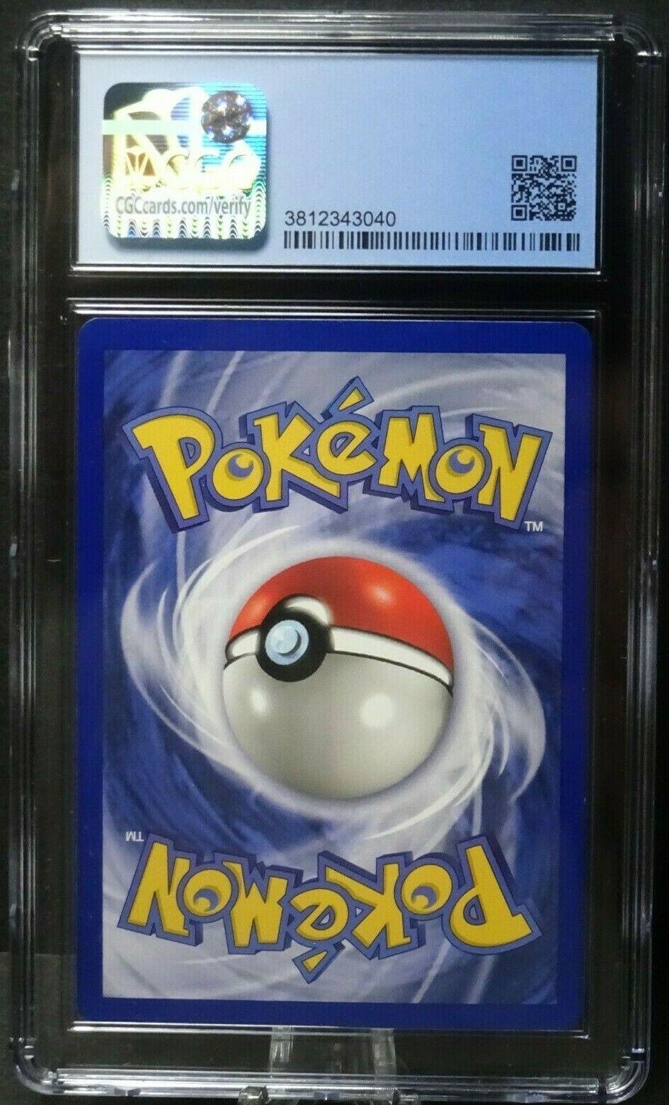 1999 GERMAN GYARADOS GARADOS Base Set 1ST EDITION Holo Rare Pokemon 6/102 CGC 9 - Image 4