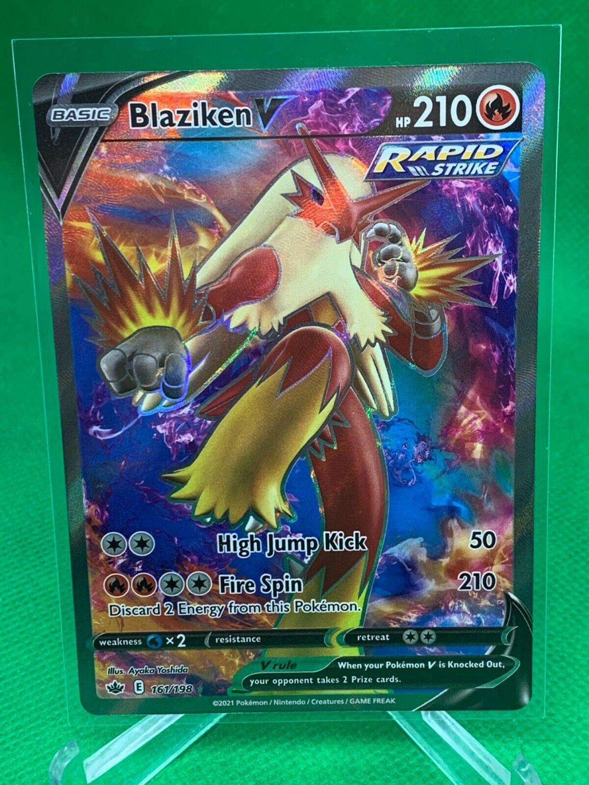 Pokemon - Blaziken V - Chilling Reign - 161/198 - Full Art