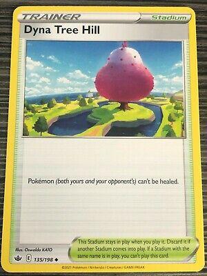 Pokemon : SWSH CHILLING REIGN DYNA TREE HILL 135/198 UNCOMMON
