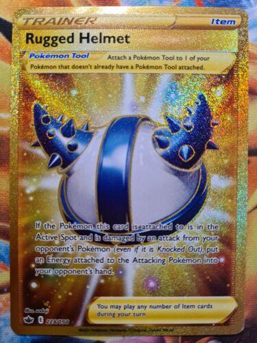 Rugged Helmet Secret Rare Full Art Pokemon Card, Chilling Reign, 228/198 - Image 1