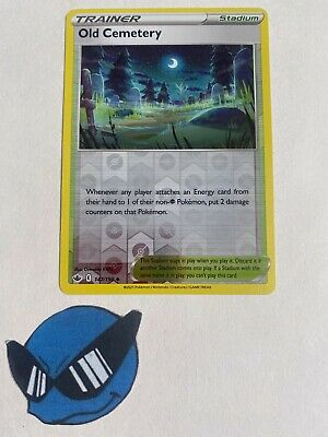 Pokemon TCG : Old Cemetery 147/198 Reverse Holo Chilling Reign