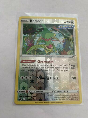 Pokemon Card Chilling Reign Kecleon - 122/198 - Rare Reverse Holo NM/ Mint