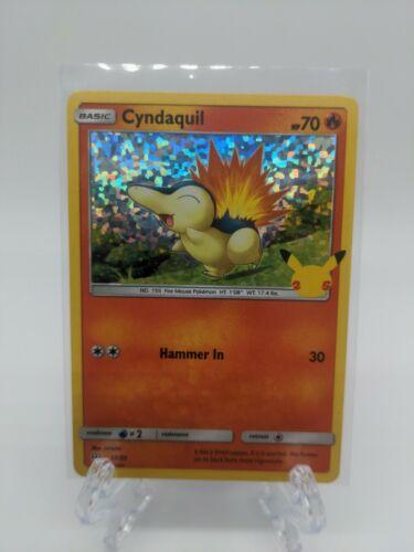 Cyndaquil 10/25 Holo McDonald's 25th Anniversary Pokemon TCG Near Mint