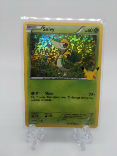Snivy 5/25 Holo McDonald's 25th Anniversary Pokemon TCG Near Mint