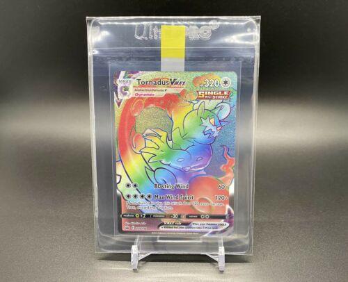 Tornadus VMAX Rainbow Rare 209/198 Pokemon TCG Chilling Reign Near Mint Fresh - Image 8