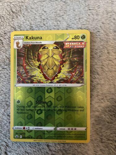 Pokemon S&S Chilling Reign REVERSE HOLO (Un.) Kakuna 002/198 - Near Mint (NM)