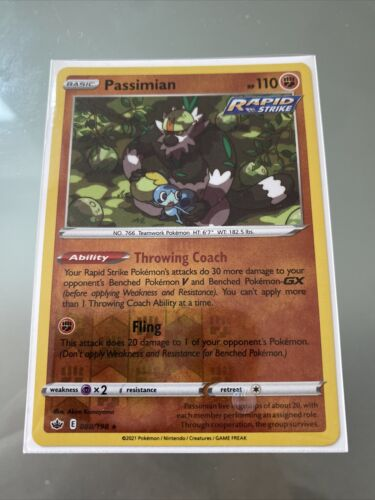 Passimian - SWSH Chilling Reign - Reverse Holo - 088/198
