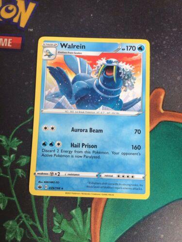 039/198 Walrein   Rare Card   Chilling Reign   Water   Pokemon TCG
