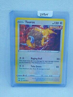 Pokémon TCG Tauros Holo 115/198 | Chilling Reign | Play/Grade Ready